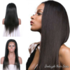 Indian Straight Yaki Wig with Lace Frontal