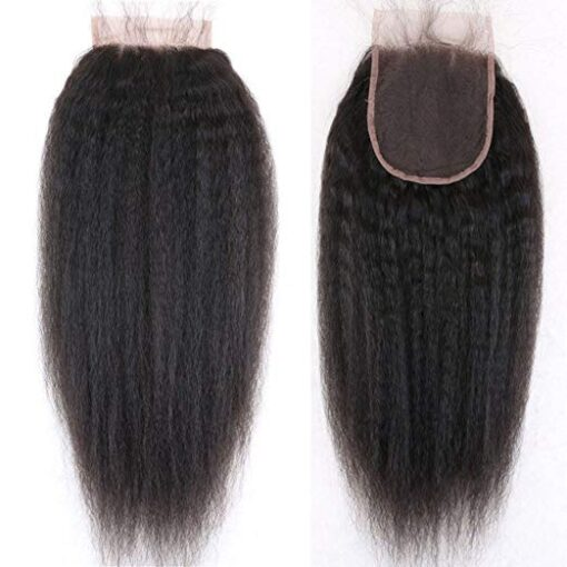 Kinky Straight Closure