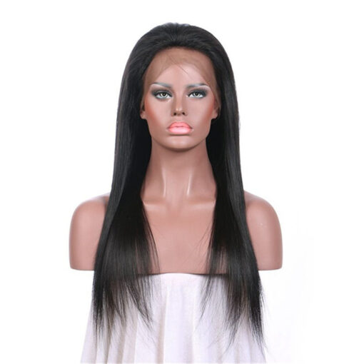 Virgin Indian Straight Lace Frontal Wig