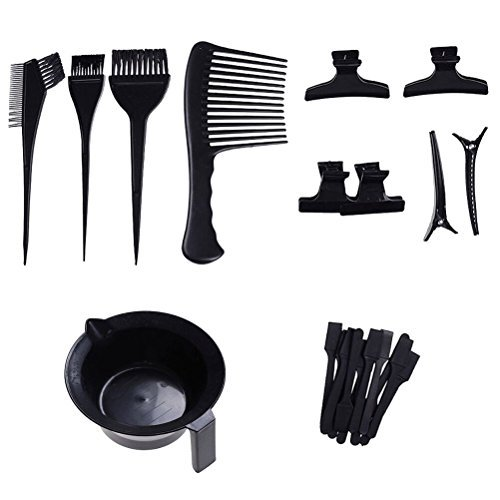 23 Pieces Hair Dye Coloring DIY Beauty Salon Tool Kit