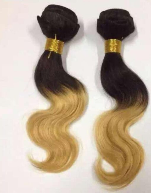 Ombre Body Wave Dark Brown to Honey