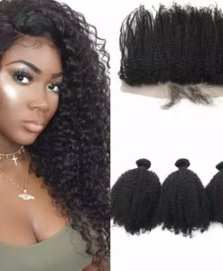 Afro Kinky Curl Bundle Deal Promo