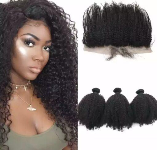 Afro Kinky Curl Bundle Deal Promo