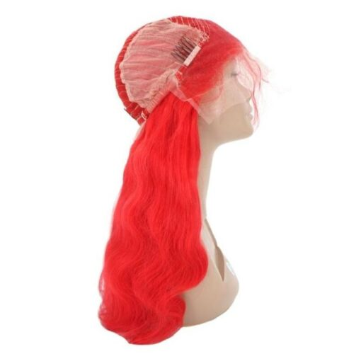 Wig - Red Wavy