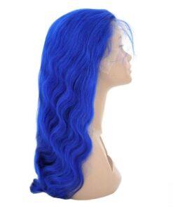 Wig - Wavy Blue