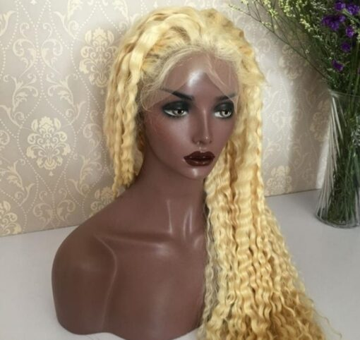 613 Deep Wave Front Lace Wig