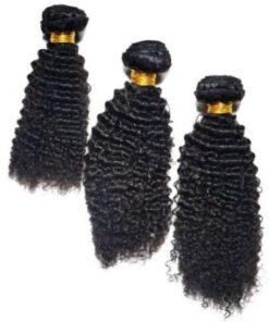 Kinky Curl Bundles Hair Extensions
