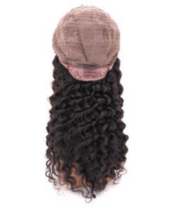 U-Part Deep Wave Wig Cap