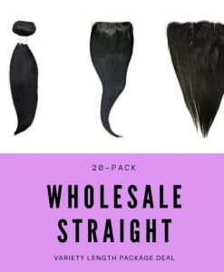 Natural Straight Wholesale | Package