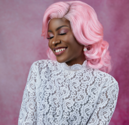 Wig - Pink Body Wave