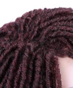 Wig - Burgundy Dreadlock Twist