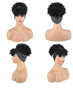 Wig - Grey Headband Wig