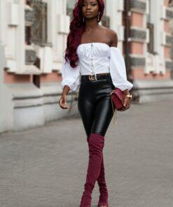 Burgundy Wig