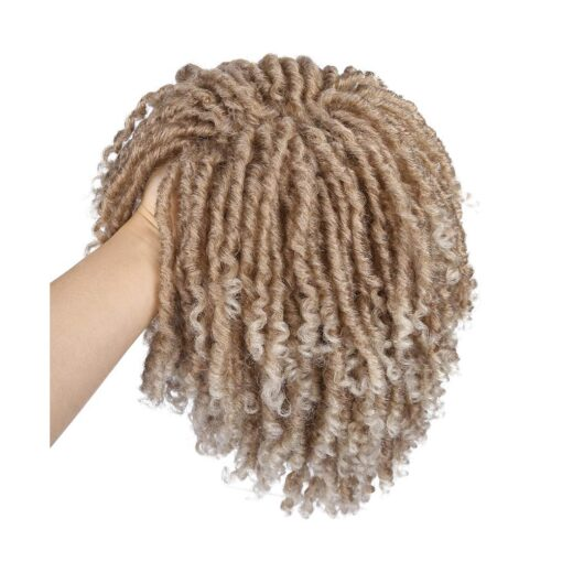 Wig - Twisted Blonde Synthetic