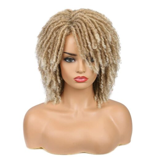Wig - Blonde Twisted Synthetic