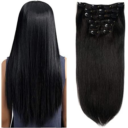 Straight Hair Clip-Ins
