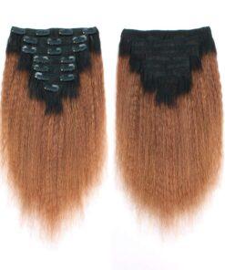 Clip-Ins - Ombre Yaki Straight Hair