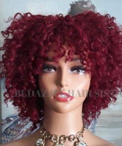 Wig - KM Originals Curly Red