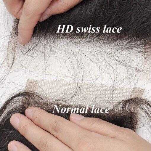 HD Lace vs. Swiss Lace