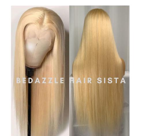 Wig - Straight Blonde Hair