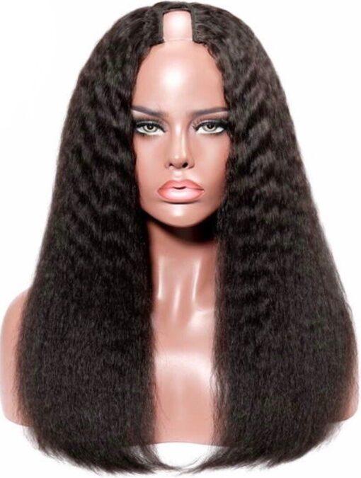 Kinky Straight U-Part Wig