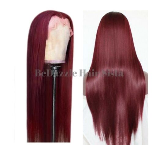 Wig - Red Straight