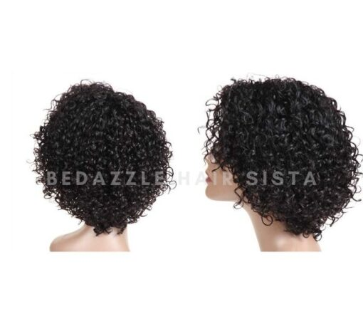 Wig - Short Curly Bob
