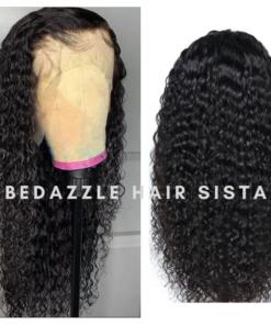 Wig - Kinky Curly Human Hair