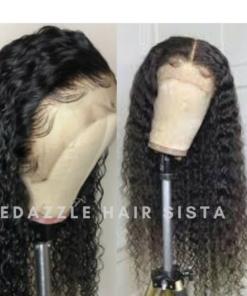 Wig - Deep Wave Human Hair
