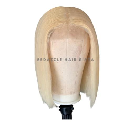 Wig - Short Blonde Bob