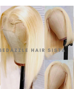 Wig - Platinum Blonde Short Hair