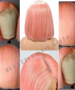Wig - Pink Short Hair