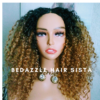 Wig - Ombre Blonde Curly Hair