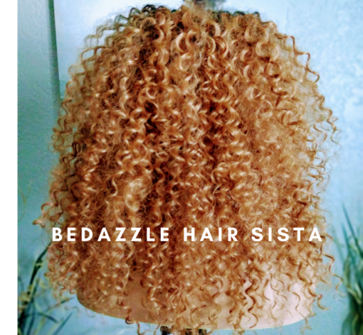Wig - Ombre Curly Hair