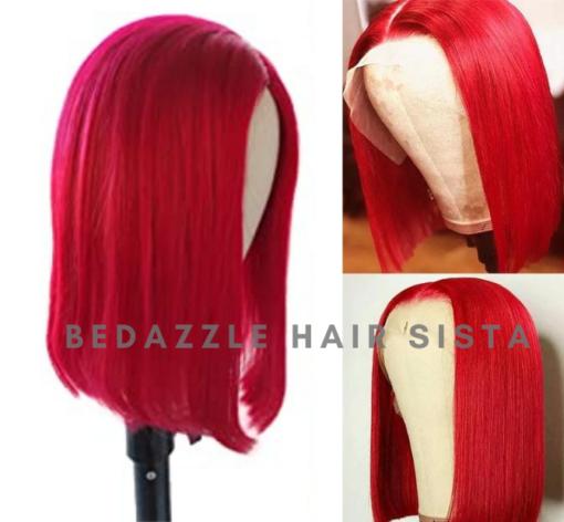 Wig -Red Short Bob