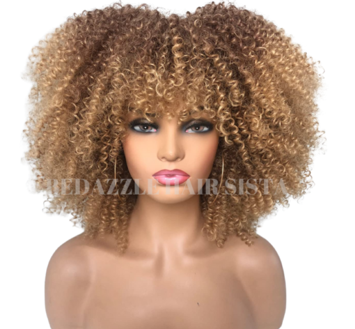 Wig - Ombre Afro Kink Curl