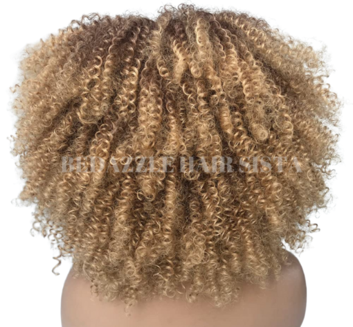 Wig - Afro Kinky Curl Back
