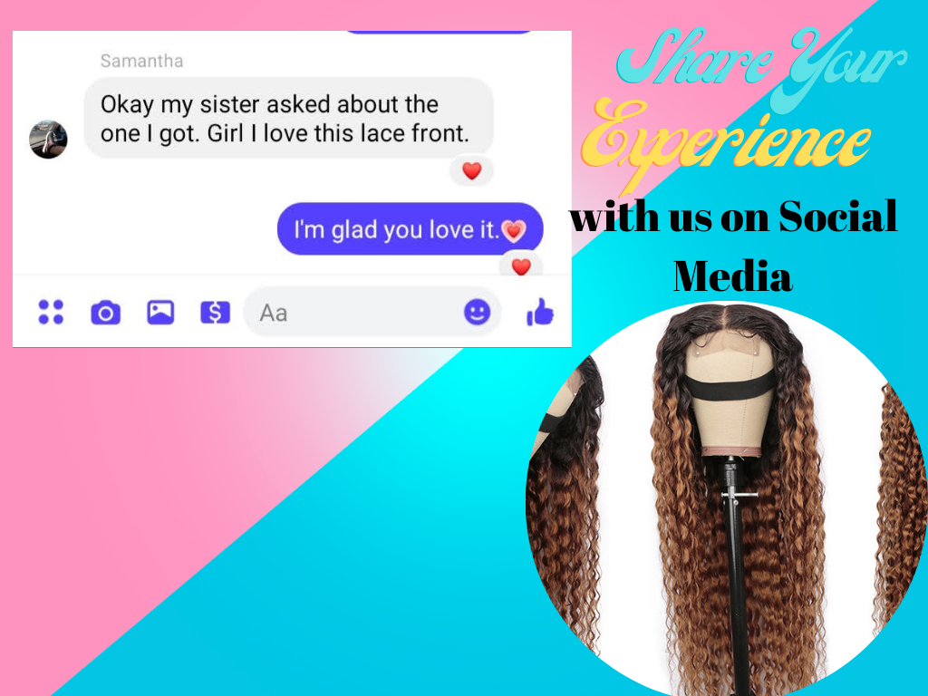 Hair Review - Ombre Deep Wave Wig