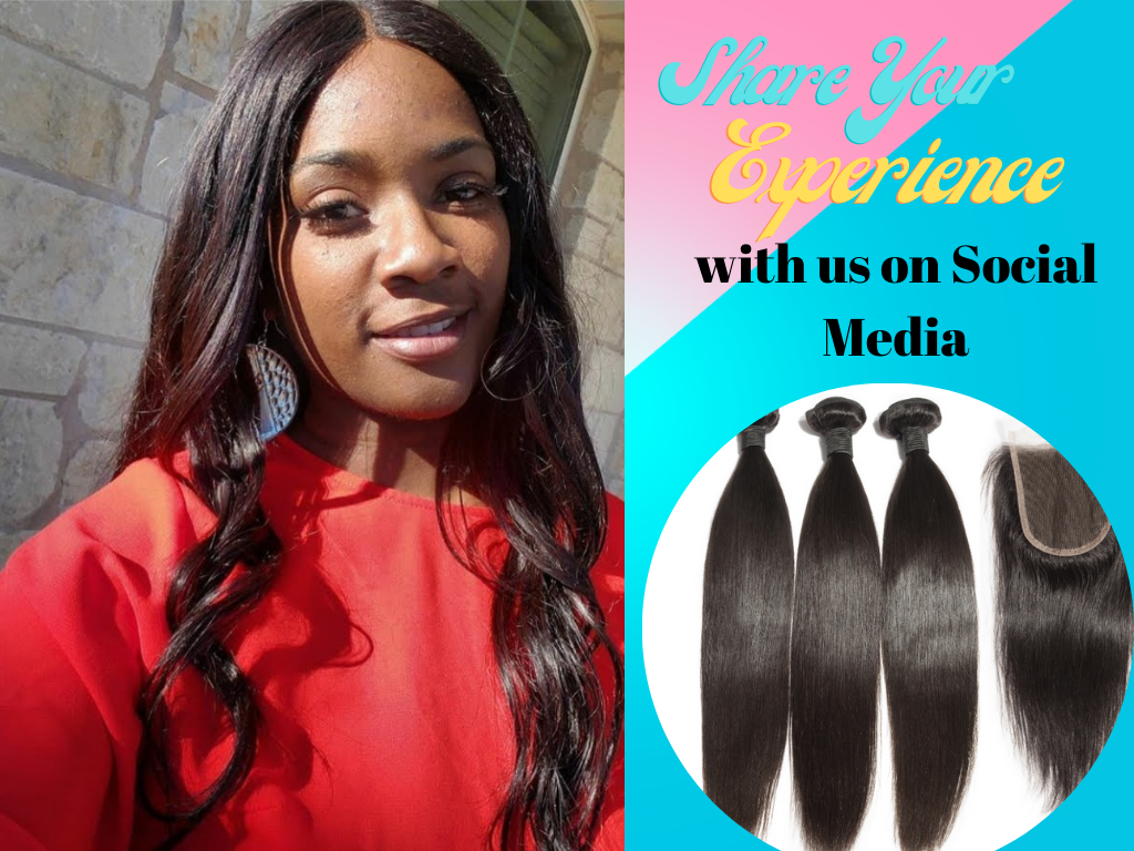 Hair Review - Straight Bundles with Closure