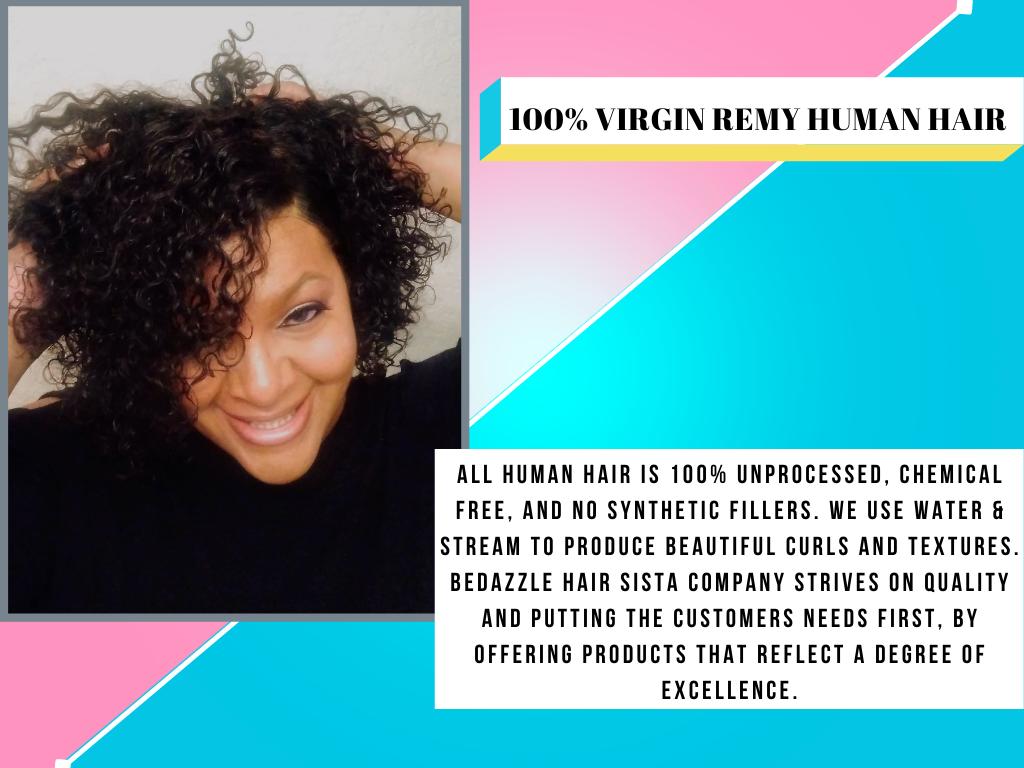 100% Virgin Human Hair Extensions